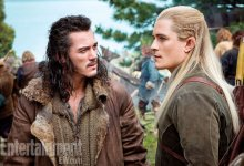 Luke Evans and Orlando Bloom in The Hobbit There and Back Again 220x150 The Hobbit: There and Back Again pushed to December 2014
