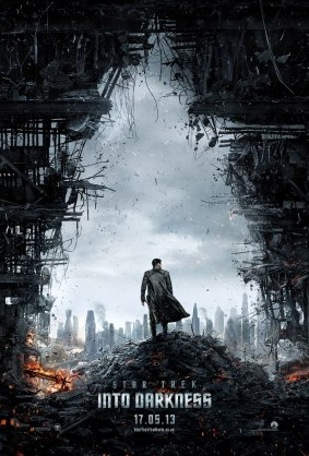 Star Trek Into Darkness Teaser Poster 439x650 Brand New Teaser Trailer for Star Trek: Into Darkness