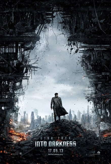 Star Trek Into Darkness Teaser Poster 439x650 The First Teaser Poster for Star Trek Into Darkness