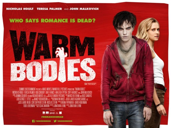 Warm Bodies 585x438 New Poster For Warm Bodies Says Romance Is Alive