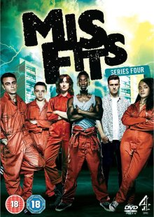 misfits1 Misfits Series 4   DVD Review