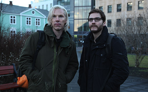 Benedict Cumberbatch and Daniel Brühl in The Fifth Estate First Look Image: Benedict Cumberbatch as WikiLeaks' Julian Assange in The Fifth Estate