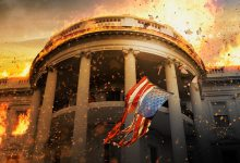 Olympus Has Fallen Poster 220x150 First Trailer for Olympus Has Fallen with Gerard Butler