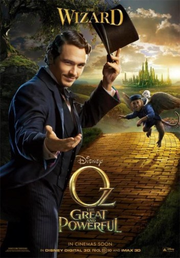 New Character Posters for Oz the Great and Powerful