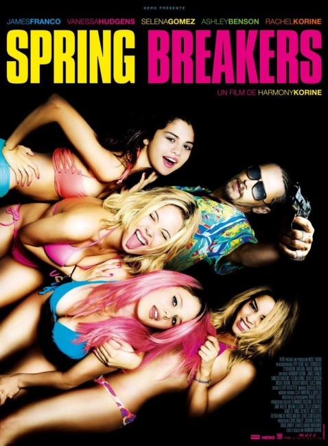 Spring Breakers International Poster 478x650 New International Poster for Spring Breakers with Selena Gomez, Vanessa Hudgens & James Franco