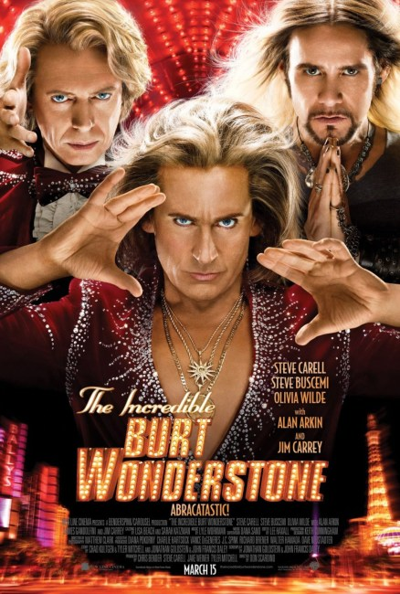 The Incredible Burt Wonderstone Poster 438x650 New Poster for The Incredible Burt Wonderstone with Steve Carell & Jim Carrey