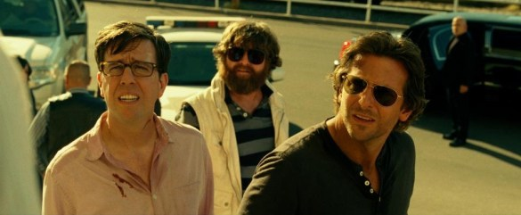Ed Helms Zach Galifianakis and Bradley Cooper in The Hangover Part III 585x241 The HeyUGuys Instant Watching Guide   March 10th 2014