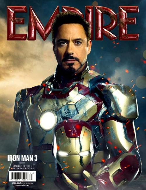 Iron Man 3 graces the Empire Cover + New Images Surface