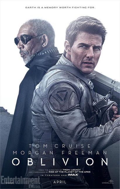 2 New Posters for Joseph Kosinski's Oblivion with Tom Cruise