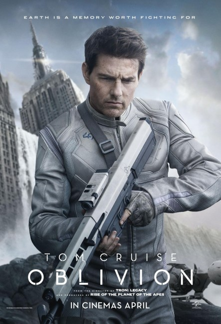 Oblivion Poster 443x650 New Poster for Joseph Kosinski's Oblivion with Tom Cruise