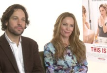 Paul Rudd and Leslie Mann This is 40 220x150 The HeyUGuys Interview: Paul Rudd and Leslie Mann discuss This is 40