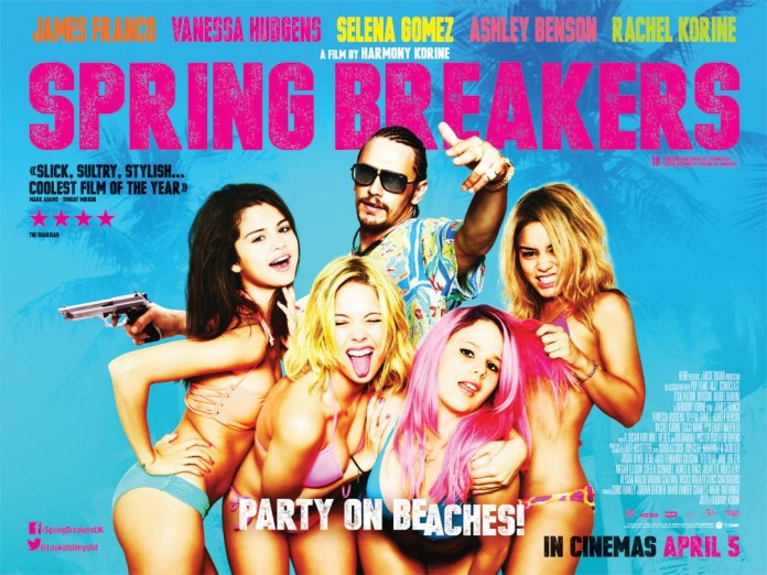 Spring-Breakers-UK-Quad-Poster-Blue