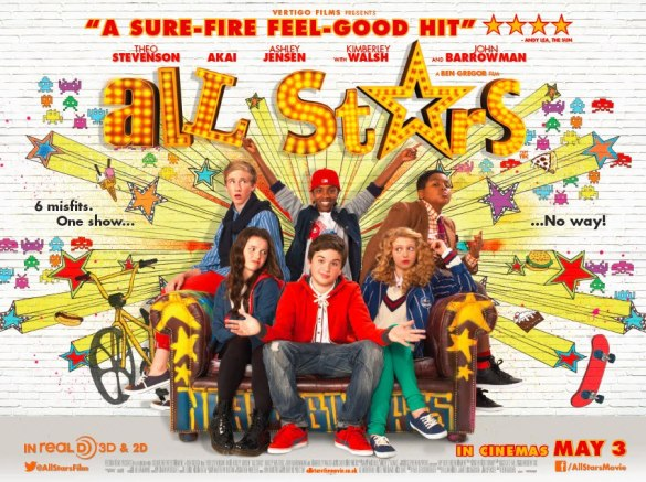 All Stars Quad Poster 585x437 New UK Trailer and Quad Poster for All Stars