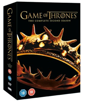 Game of Thrones Season 2 Packshot Game of Thrones: Season 2 DVD Interview Highlights