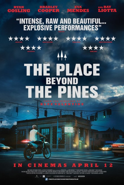 The Place Beyond the Pines Poster UK 438x650 New Poster for The Place Beyond the Pines with Ryan Gosling & Bradley Cooper