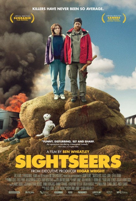 Sightseers US Poster 438x650 First Official US Trailer and Poster for Ben Wheatley's Sightseers