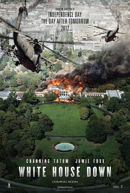 White House Down Poster  438x650 The HeyUGuys Instant Watching Guide   January 13th 2014