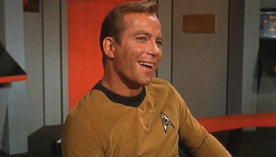 CaptainKirkSmiling Six of the Best Movie Moments: Captain Kirk