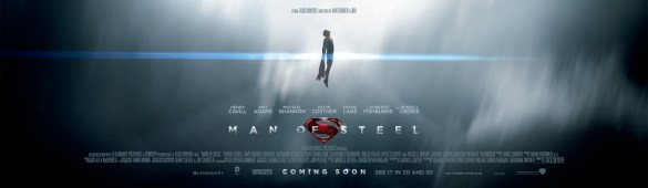 Man of Steel Banner1 585x170 Preview a Full Track from Hans Zimmer's Man of Steel Score + Awesome New Banner