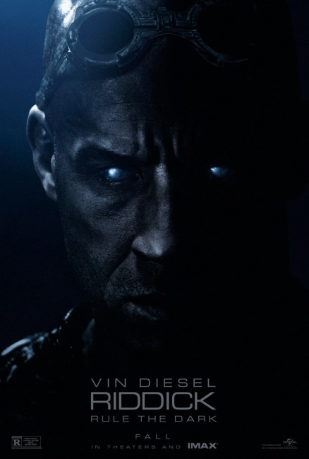 Riddick Poster 438x650 Awesome First Full Length Trailer & Poster for Riddick with Vin Diesel