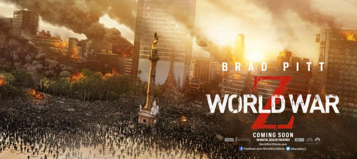Destruction goes Global in New Banners for World War Z with Brad Pitt