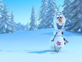 Olaf-in-Frozen