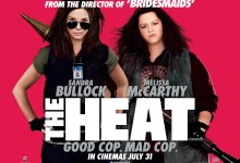The Heat Quad Poster 220x150 New Red Band Clip from The Heat with Sandra Bullock & Melissa McCarthy – 'Good Cop, Bad Cop'