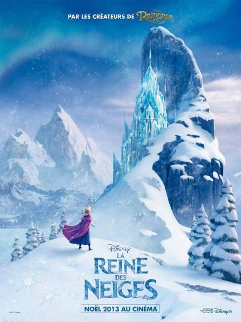 Disneys Frozen International Teaser Poster 487x650 New International Poster Teases the Ice Palace in Disney's Frozen