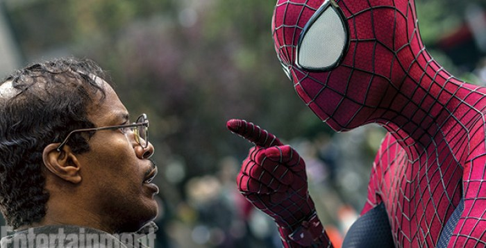 Jamie-Foxx-and-Andrew-Garfield-in-The-Amazing-Spider-Man-2