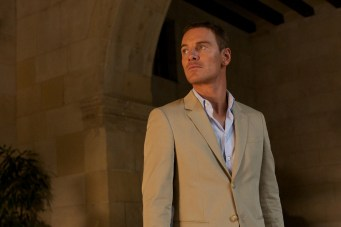 Michael Fassbender in The Counsellor2 585x390 The UK Trailer for Ridley Scotts The Counsellor