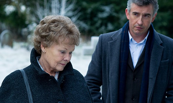 Judi Dench and Steve Coogan in Philomena 585x350 VIFF 2013: Philomena Review