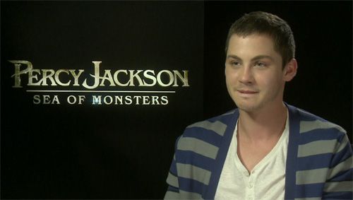 Logan Lerman - Percy Jackson Sea of Monsters
