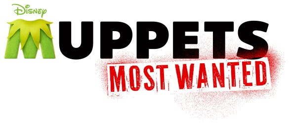 Muppets Most Wanted Logo1 585x249 Disney Reveal Logos for Tomorrowland, Muppets Most Wanted, Maleficent and Saving Mr. Banks