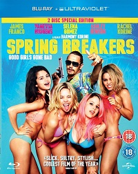 Spring Breakers Blu ray and DVD Round up 12th August 2013