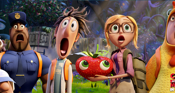 Cloudy with a Chance of Meatballs 2 Banner 585x313 Cloudy with a Chance of Meatballs 2 Review