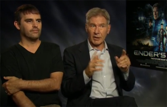Harrison Ford Enders Game Interview Interview: Harrison Ford and Bob Orci on the Ambition and Legacy of Enders Game