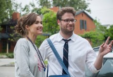 Rose Byrne and Seth Rogen in Neighbors 220x150 New Green Band Trailer for Neighbors with Seth Rogen, Zac Efron & Rose Byrne