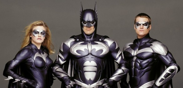 BatmanRobin 585x282 10 of the Worst Superhero Costumes in Comic Book Movies