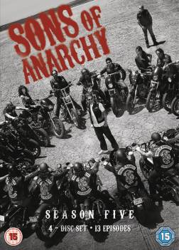 sons of anarchy 466x650 Win Sons of Anarchy: Season 5 on Blu ray