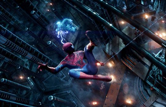Jamie Foxx and Andrew Garfield in The Amazing Spider Man 2 540x350 The Amazing Spider Man 2 Review