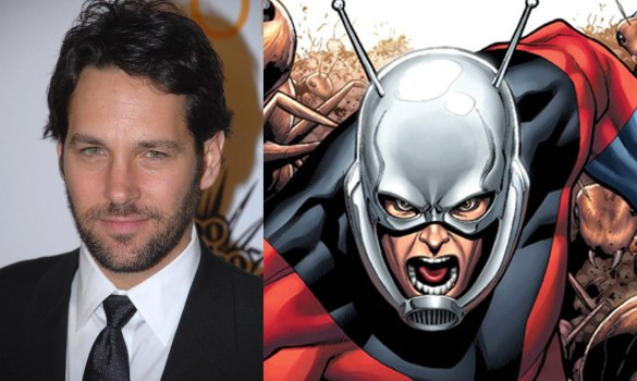 Paul Rudd in Talks to Lead Ant Man 585x350 Paul Rudd Confirmed to Lead Edgar Wright's Ant Man