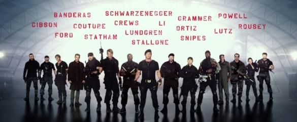The Expendables 3 Teaser Trailer slice 585x241 The New Expendables 3 Trailer Promises Explosive Action One Last Time