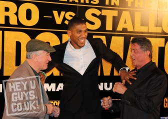The Grudge Match Press Conference & Photocall   Sylvester Stallone and Robert De Niro Fight it Out
