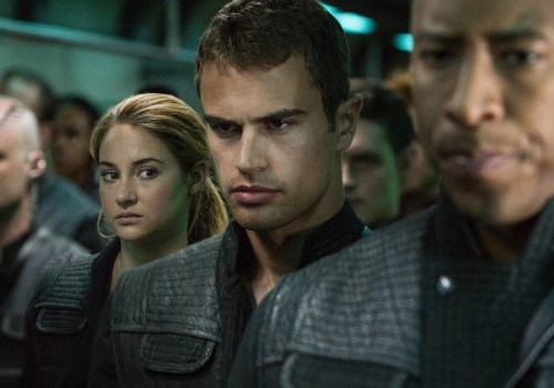 New Image of Shailene Woodley and Theo James in Divergent