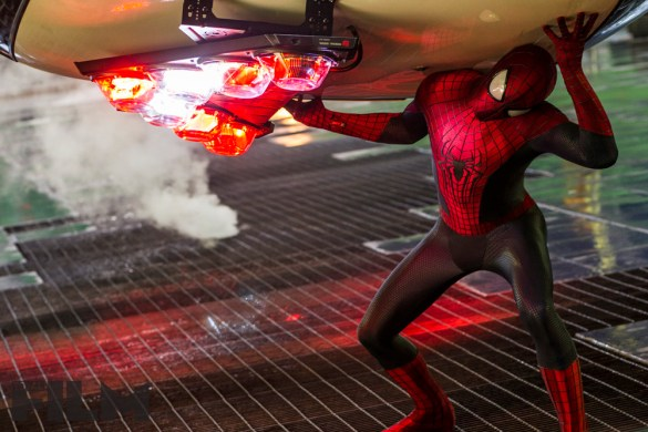 SpiderMan3 585x390 Seven New Stills from The Amazing Spider Man 2 Released