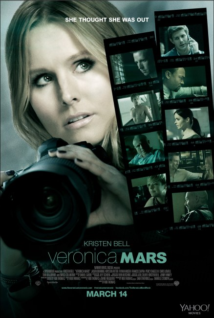 Veronica Mars Poster 438x650 First Poster for Veronica Mars Movie