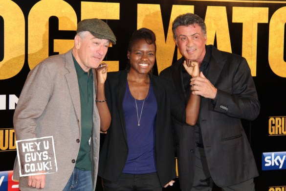 Grudge Match - Robert De Niro, Sylvester Stallone and Nicola Adams
