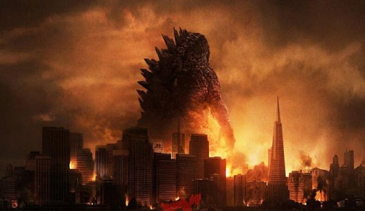Godzilla cropped Godzilla Roars Back to Life on Screen   Footage Preview Report & Q&A With Director Gareth Edwards