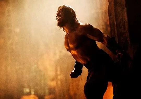 Hercules 1 First Official Images of Dwayne The Rock Johnson as Hercules