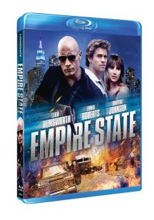 "empire state Win Dwayne ""The Rock"" Johnson and Liam Hemsworth's new action thriller EMPIRE STATE on Blu ray"